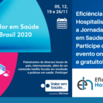 card sobre jornada valor em saúde 2020
