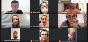 imagem de várias pessoas falando sobre qualidade e segurança aos pacientes