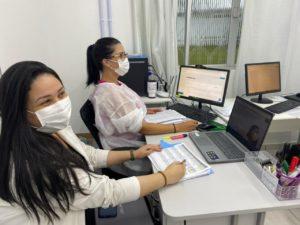 Telehospitalista auxilia Hospital Rio Maina utilizado por médica e enfermeira