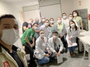 Huddle da Eficiencia Hospitalista no São Lucas (PR)