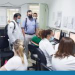 Eficiência Hospitalista conferindo os Escritórios de Gestão de Altas