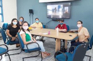 reunião da Eficiência Hospitalista no HEAC para os Escritórios de Gestão de Alta